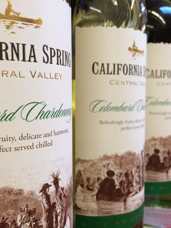 Vinproduktion i Californien