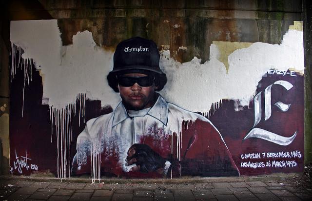 Eazy-E streetart i LA