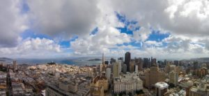 Panorama over San Francisco