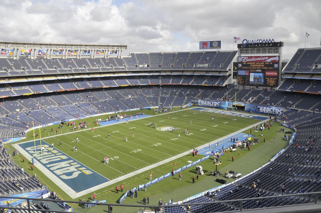 Chargers Qualcom Stadium