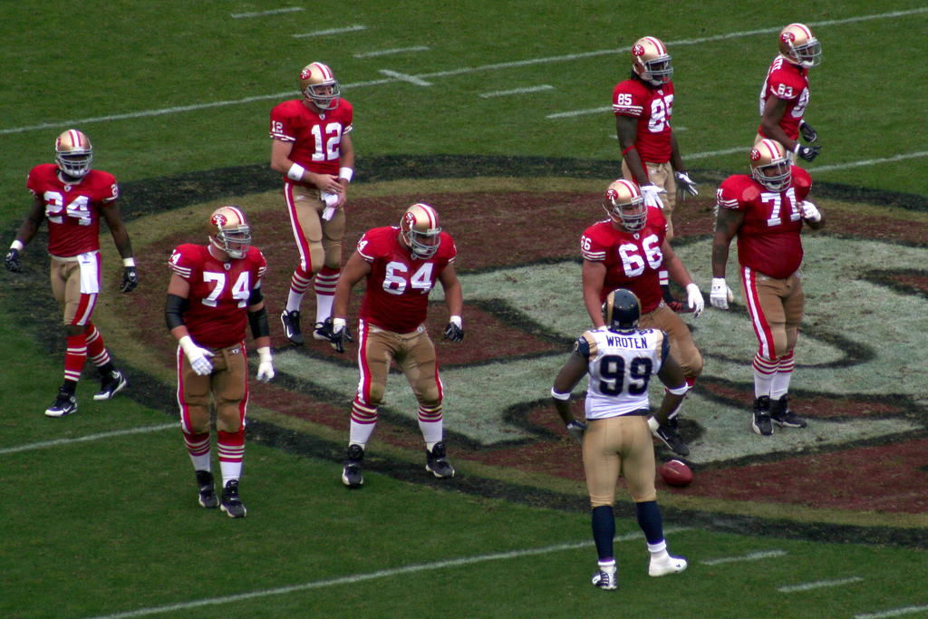SF 49'ers NFL Football