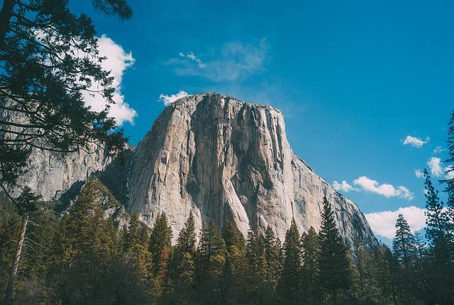 Yosemite Granitklippe