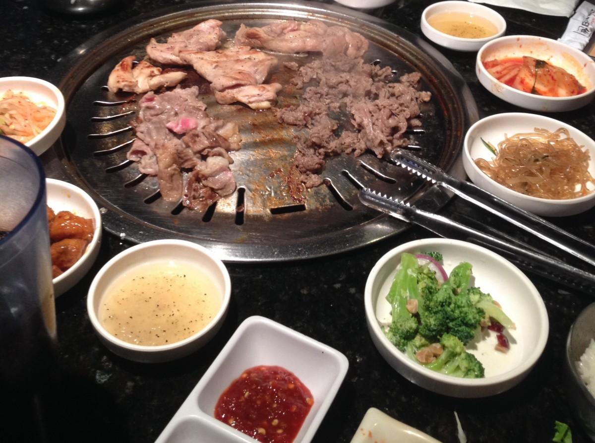 Korean BBQ i LA - Bulgogi Hut