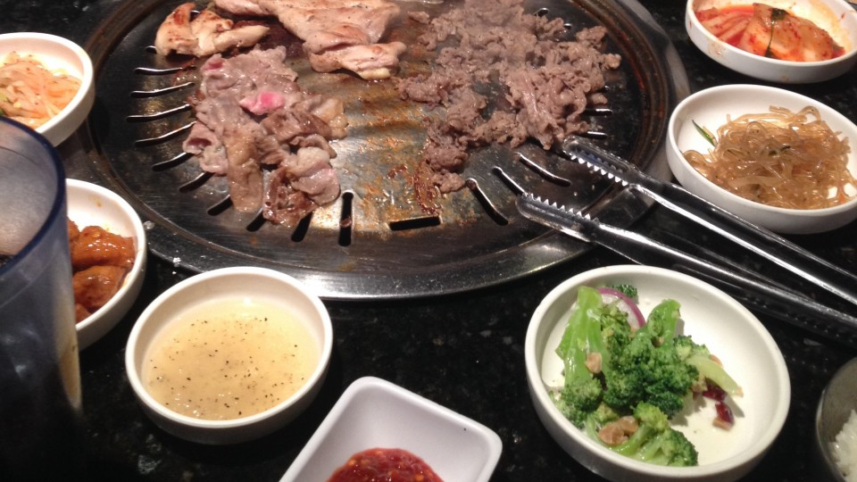 Korean BBQ i LA - Bulgogi Hut