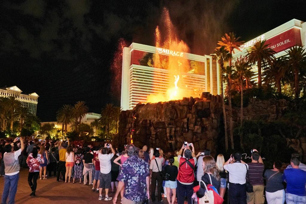 Vulkanen i Las Vegas
