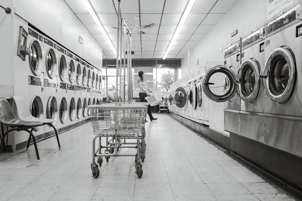 Møntvaskeri i Californien