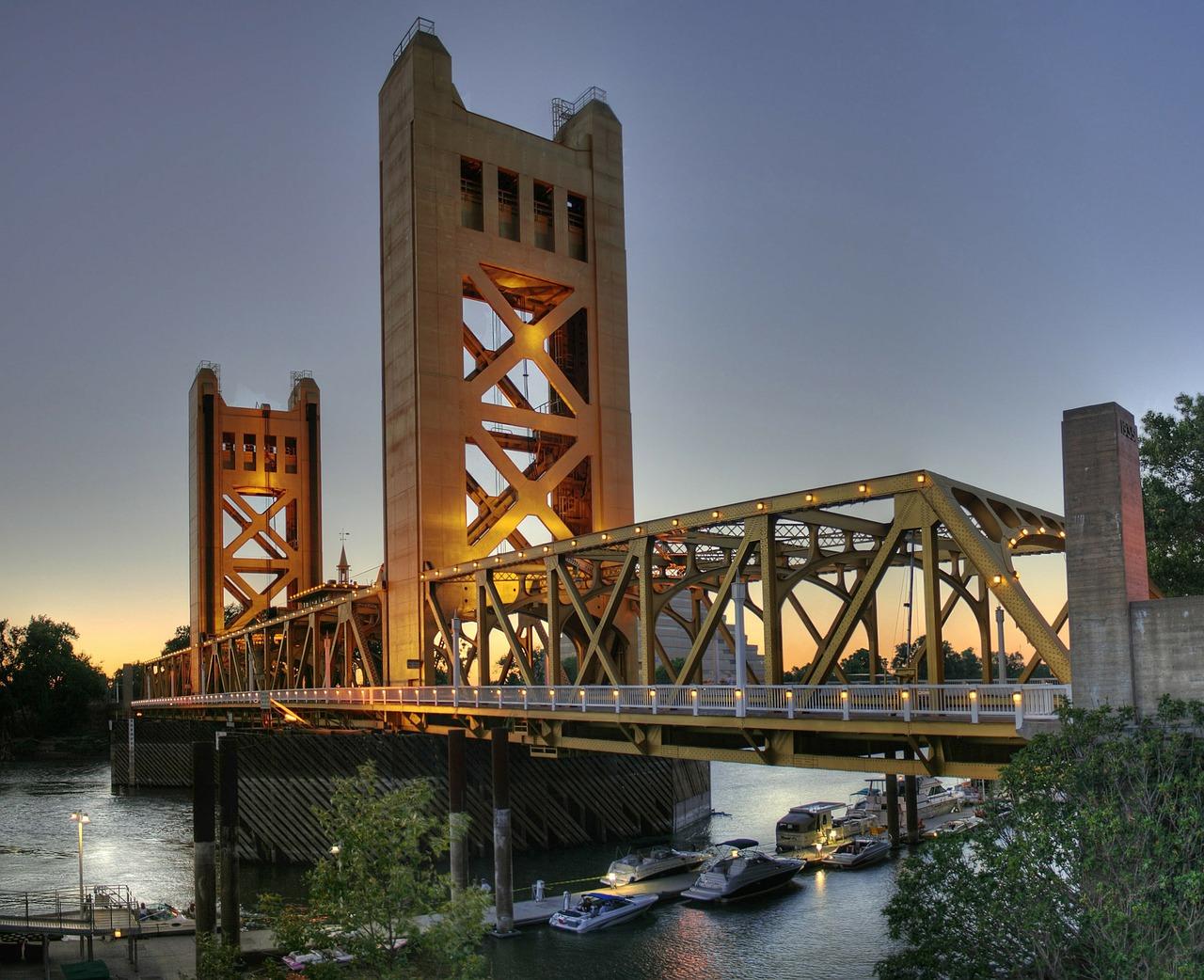 Sacramento Tower Bridge