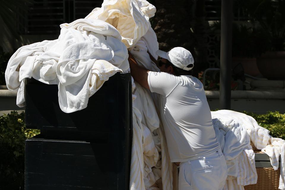 Vaske tøj i Californien