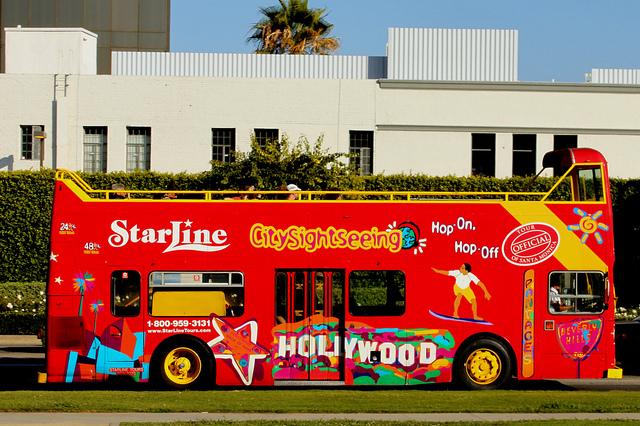 Hop on Hop off bus Los Angeles Starline