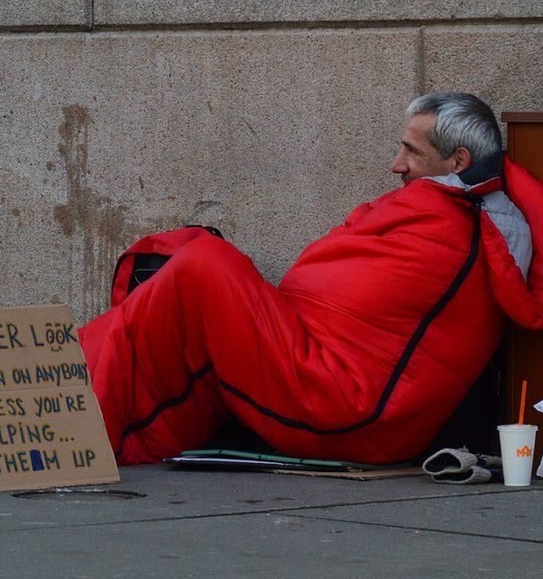Hjemløse i San Francisco