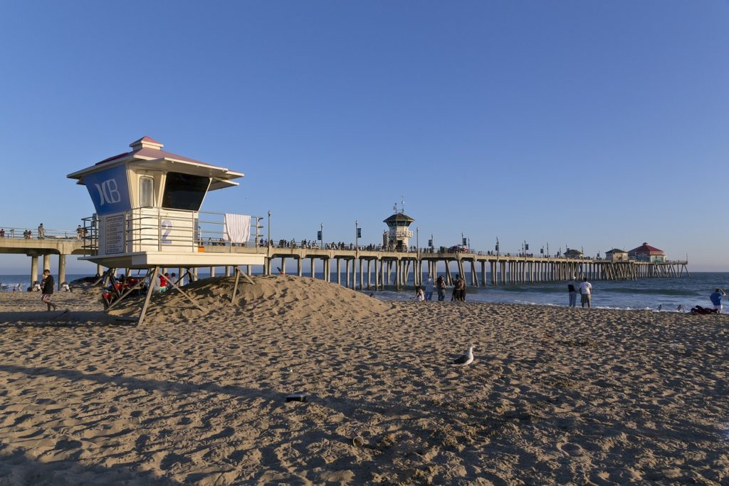 strande i californien