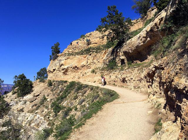 Bright Angel Trail gand canyon