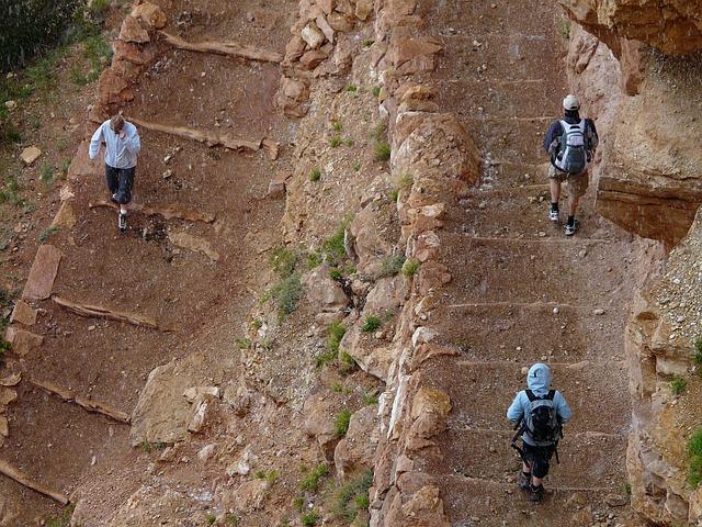 Guidede ture i Grand Canyon
