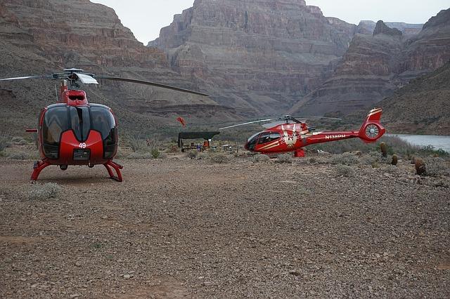 Helikoptertur i Grand Canyon