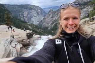 Sarah Barløse i Yosemite