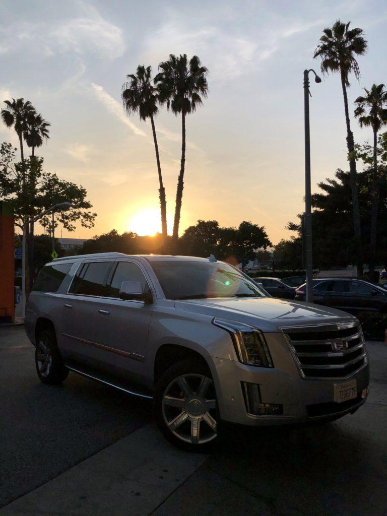 Cadillac Escalade lejebil i LA