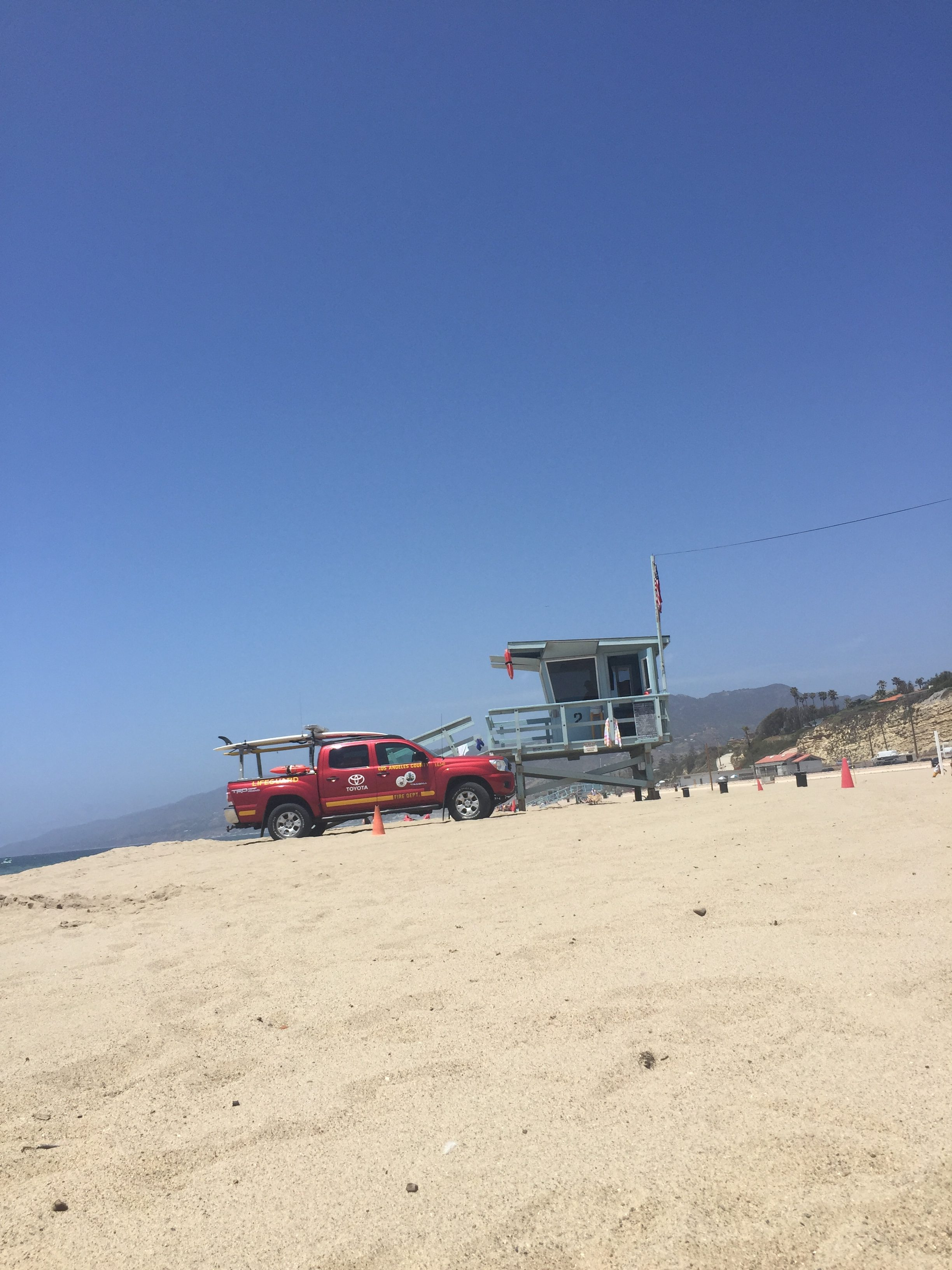 Strand i Californien